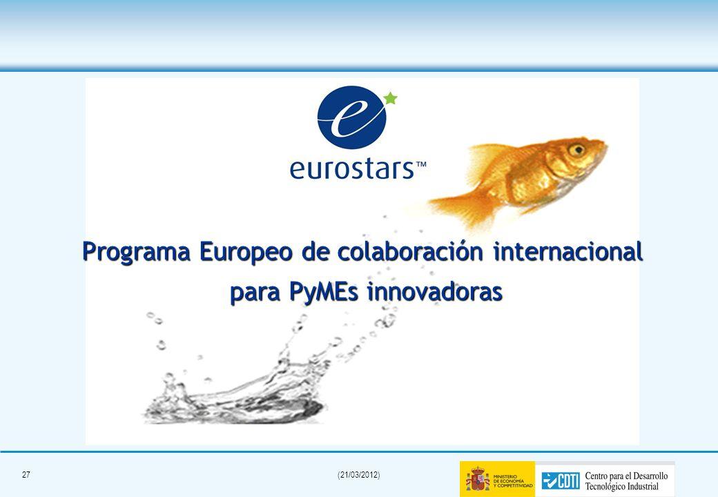 Programa Europeo de colaboración internacional para PyMEs innovadoras