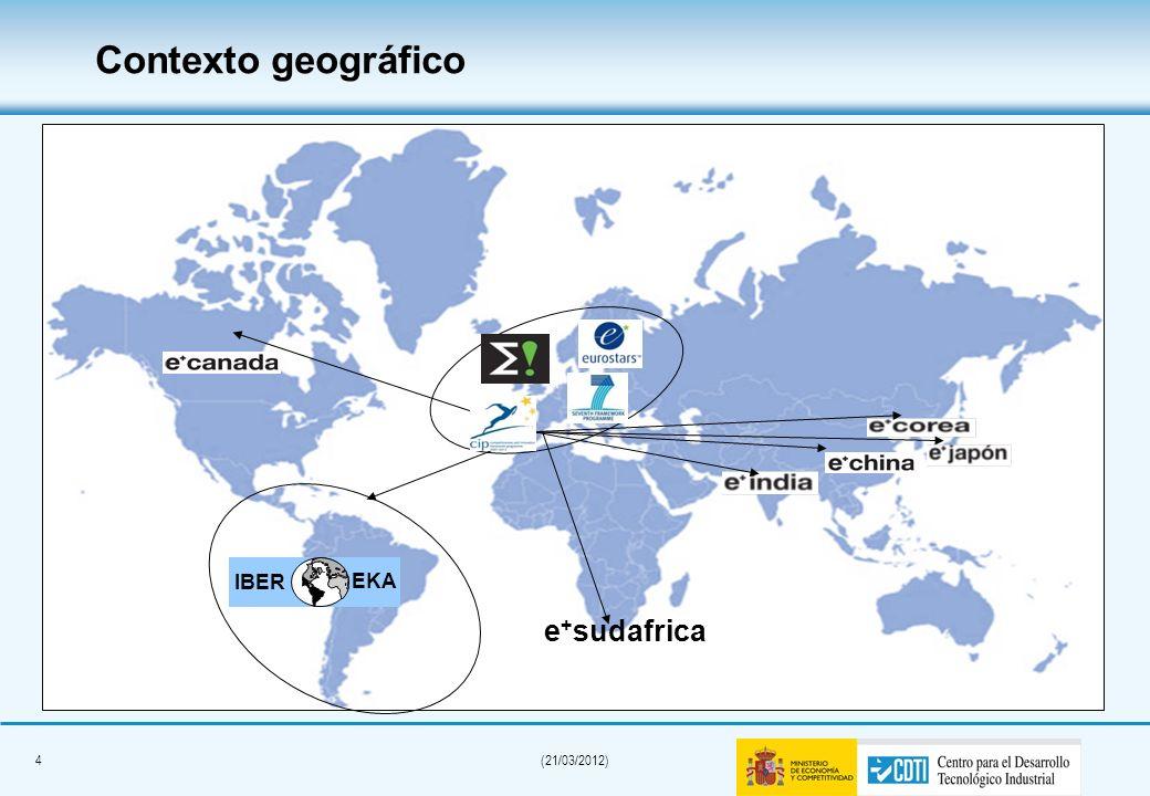 Contexto geográfico IBER EKA e+sudafrica 4 4