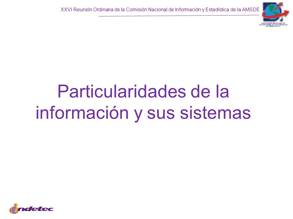 Particularidades de la información y sus sistemas