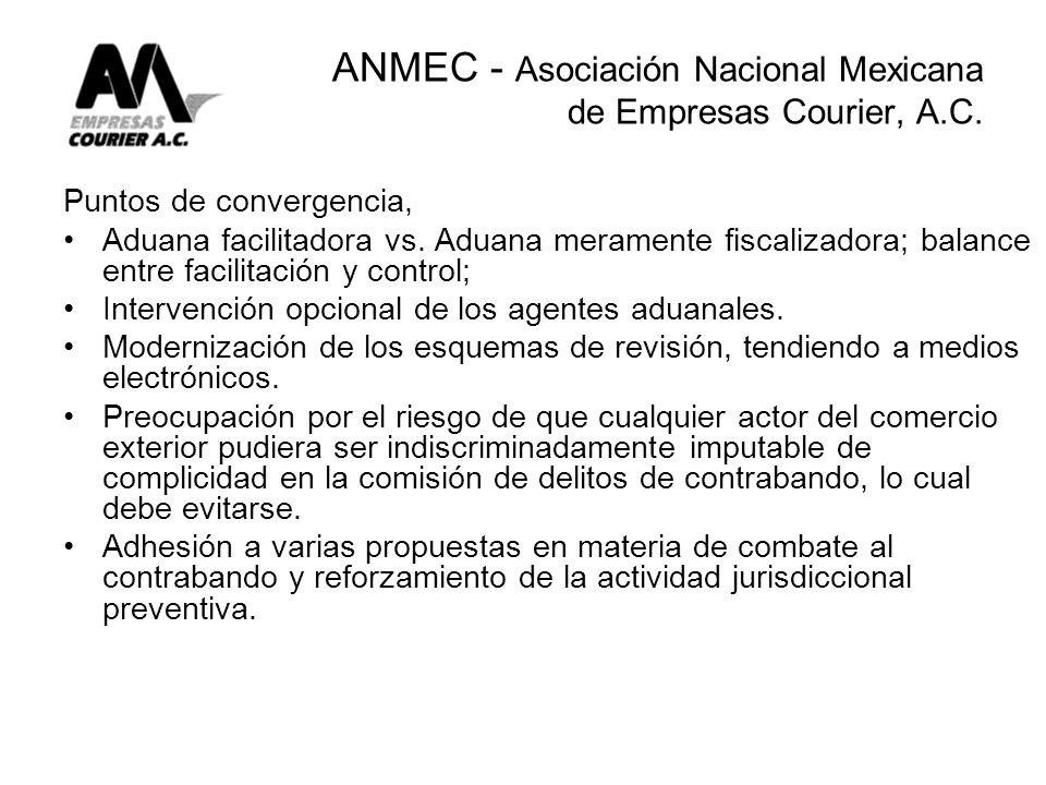 ANMEC - Asociación Nacional Mexicana de Empresas Courier, A.C.