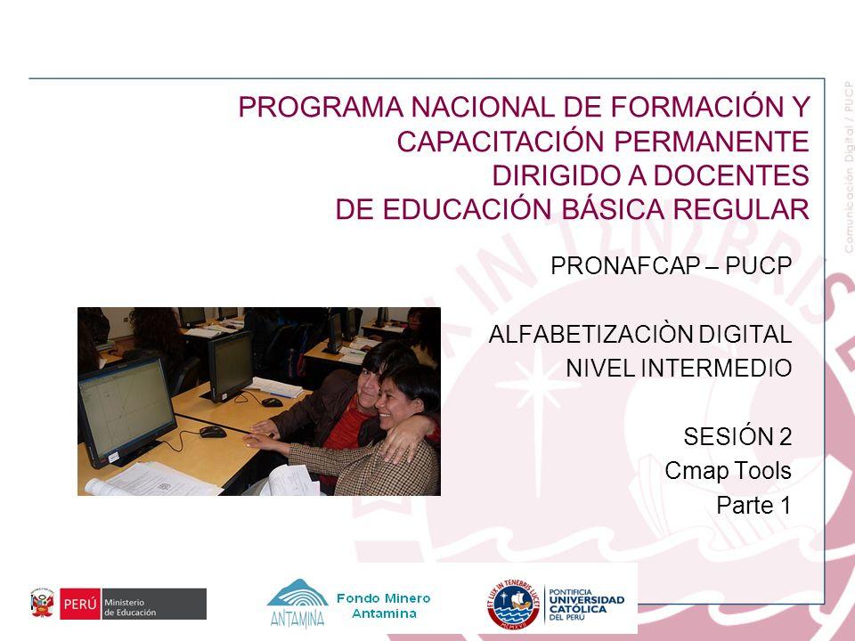 PROGRAMA NACIONAL DE FORMACIÓN Y CAPACITACIÓN PERMANENTE