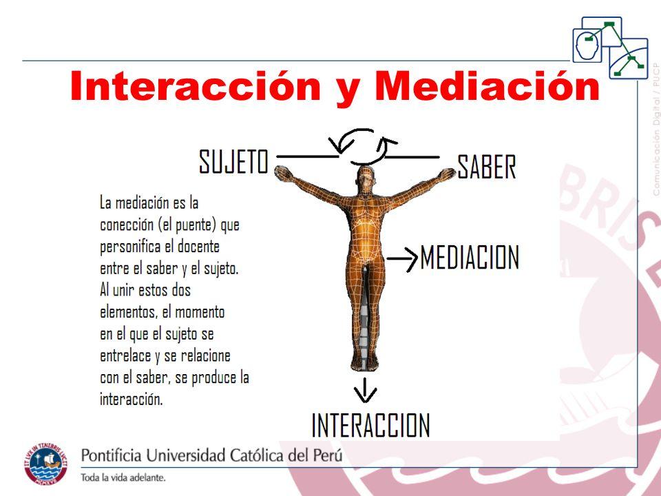 Interacción y Mediación