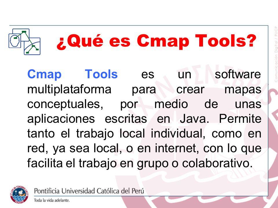 ¿Qué es Cmap Tools