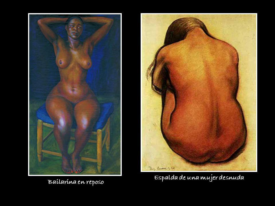 Espalda de una mujer desnuda