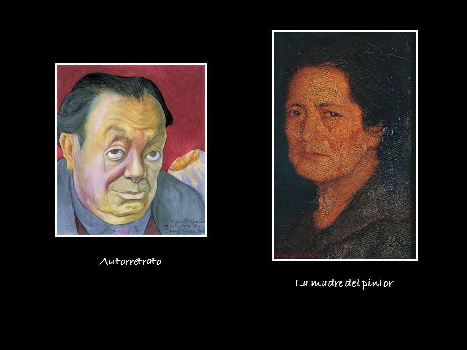 La madre del pintor Autorretrato