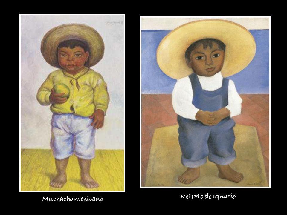 Muchacho mexicano Retrato de Ignacio