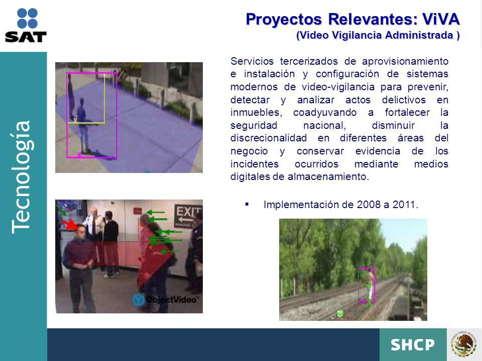 Proyectos Relevantes: ViVA (Video Vigilancia Administrada )