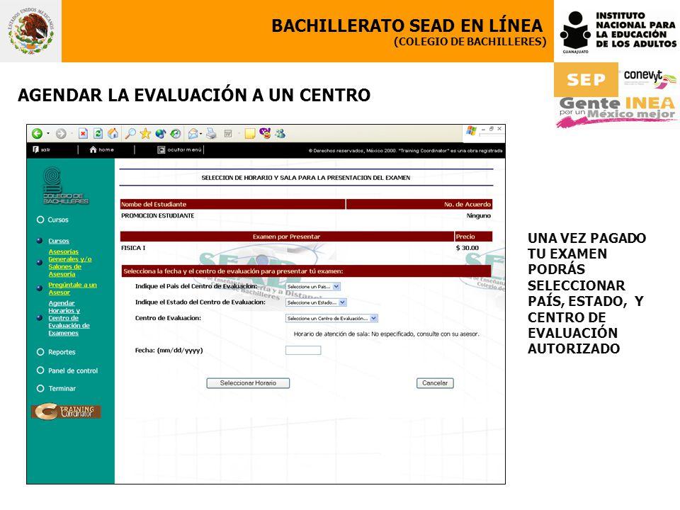BACHILLERATO SEAD EN LÍNEA