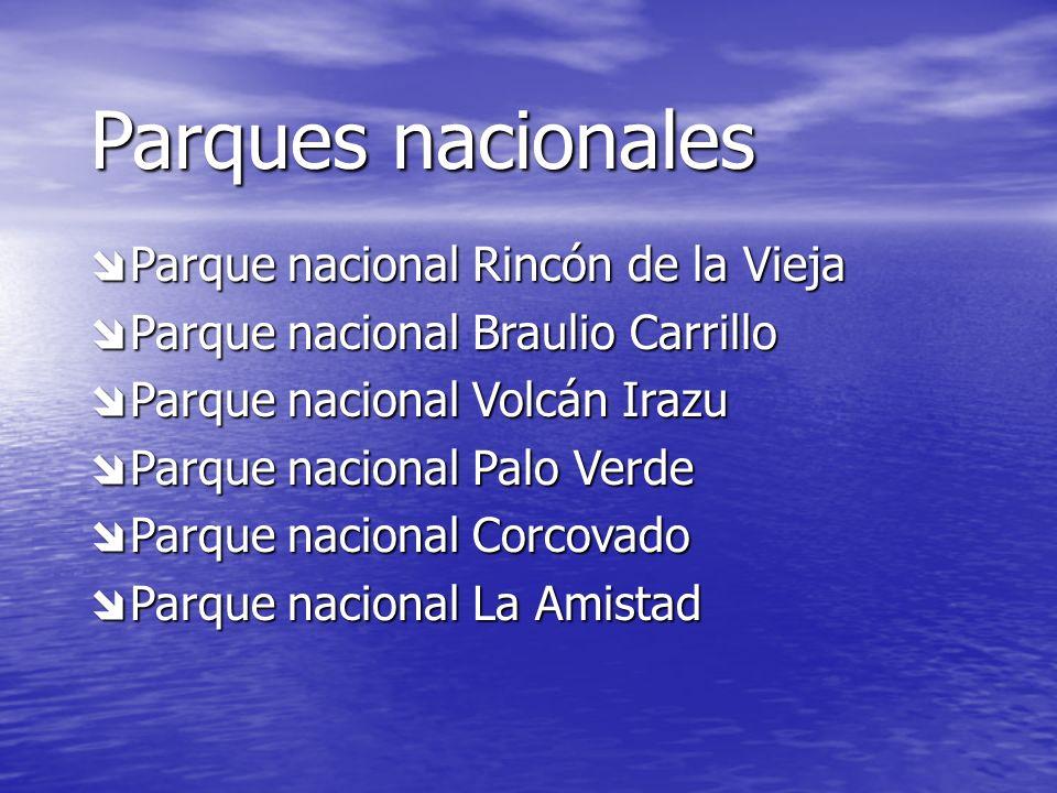 Parques nacionales Parque nacional Rincón de la Vieja