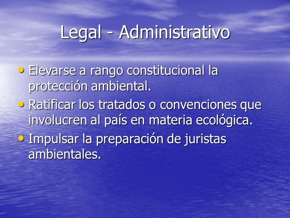 Legal - Administrativo