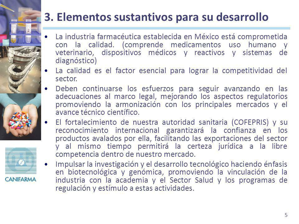 3. Elementos sustantivos para su desarrollo