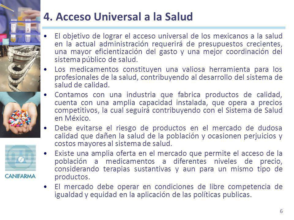 4. Acceso Universal a la Salud