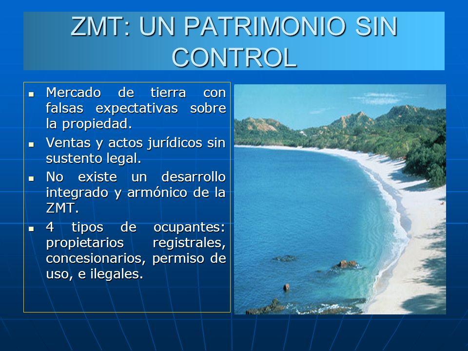 ZMT: UN PATRIMONIO SIN CONTROL