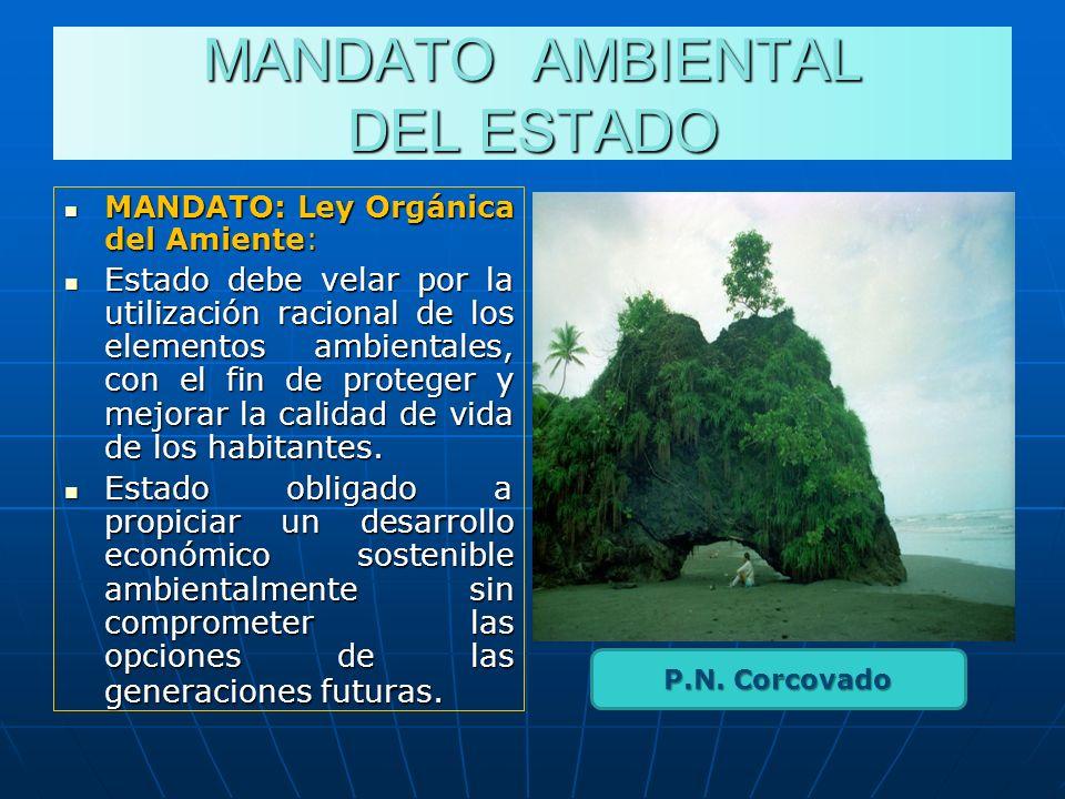 MANDATO AMBIENTAL DEL ESTADO