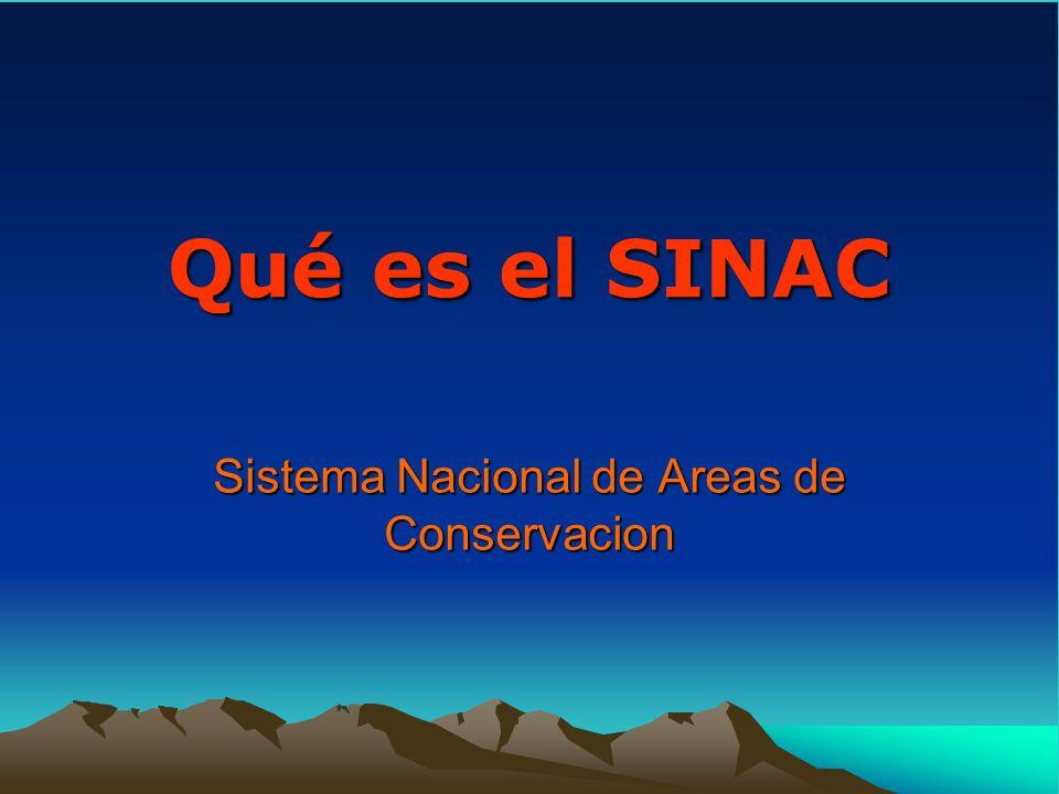 Sistema Nacional de Areas de Conservacion