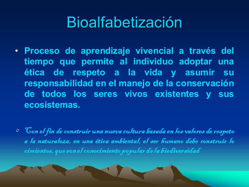 Bioalfabetización