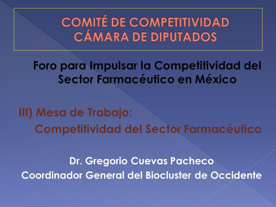 COMITÉ DE COMPETITIVIDAD CÁMARA DE DIPUTADOS