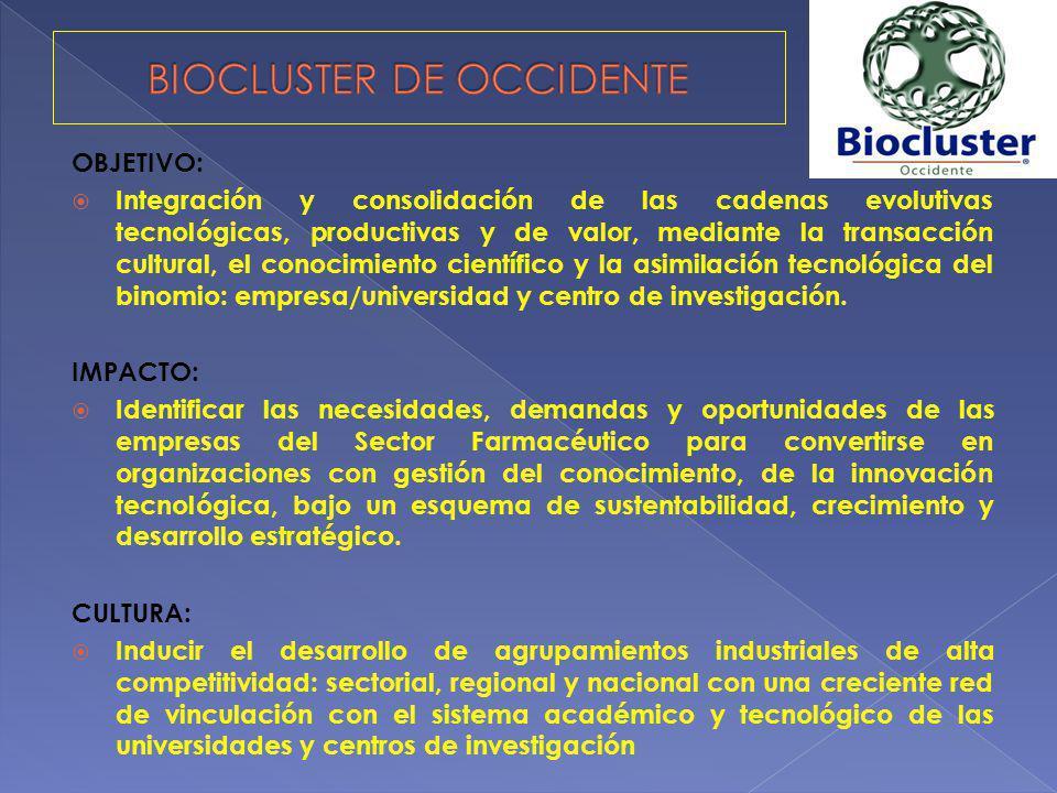 BIOCLUSTER DE OCCIDENTE