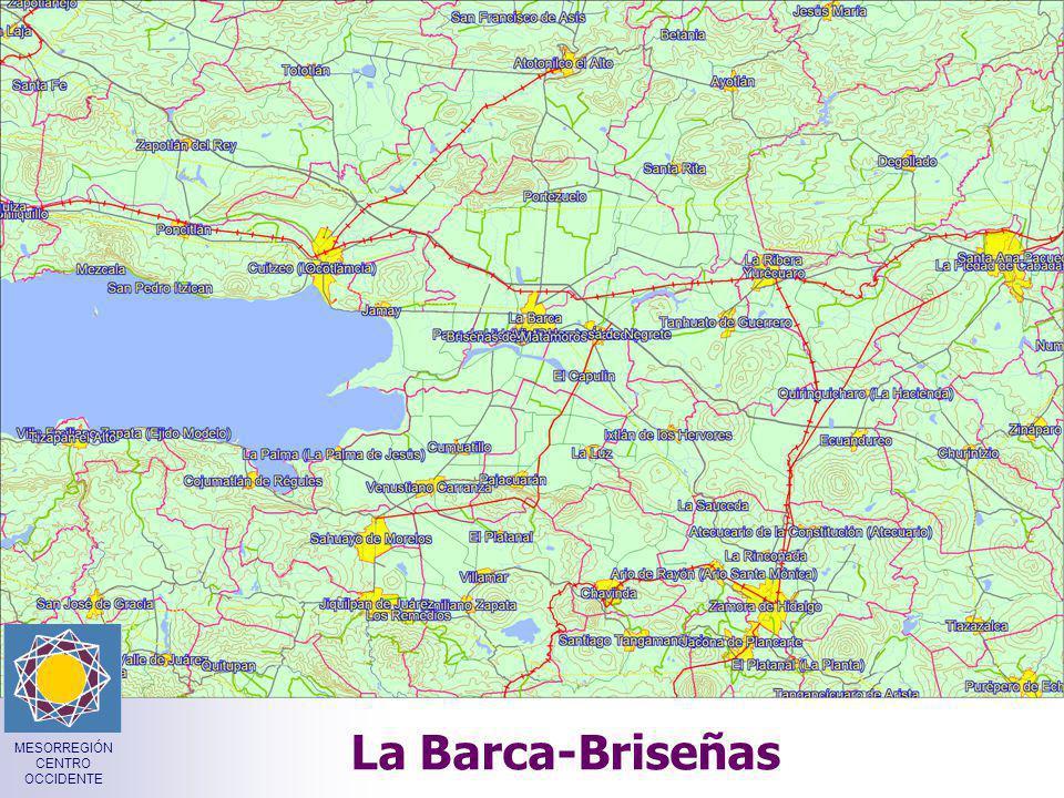 La Barca-Briseñas MESORREGIÓN CENTRO OCCIDENTE
