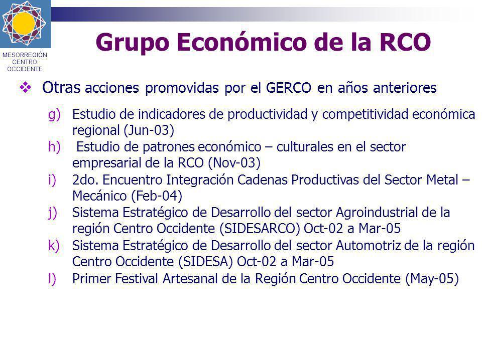Grupo Económico de la RCO