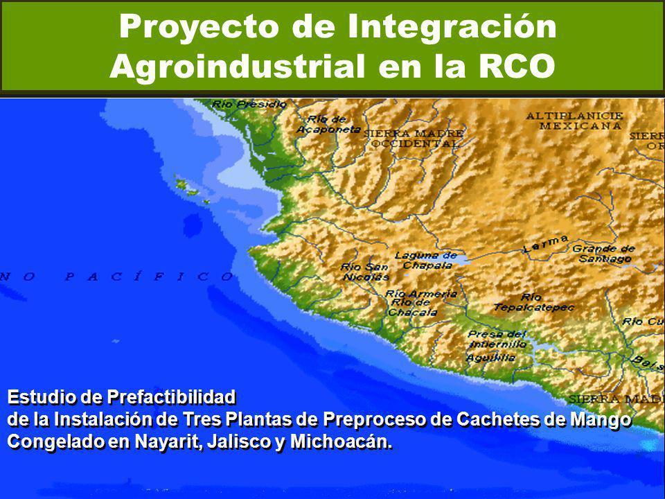 Proyecto de Integración Agroindustrial en la RCO