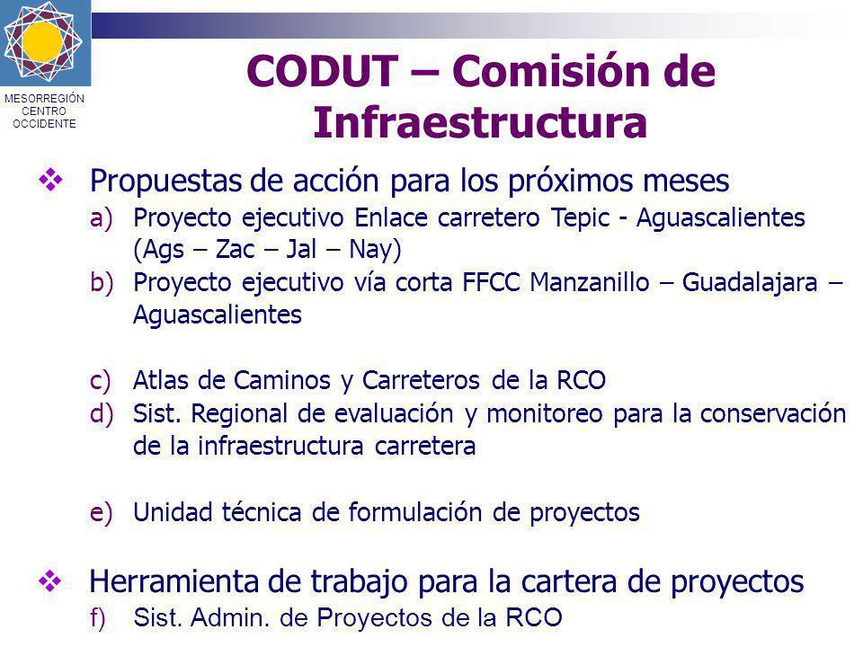 CODUT – Comisión de Infraestructura
