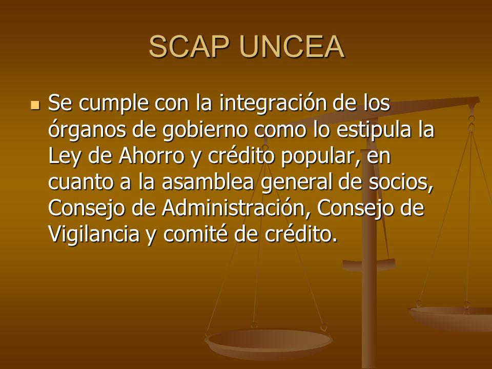 SCAP UNCEA