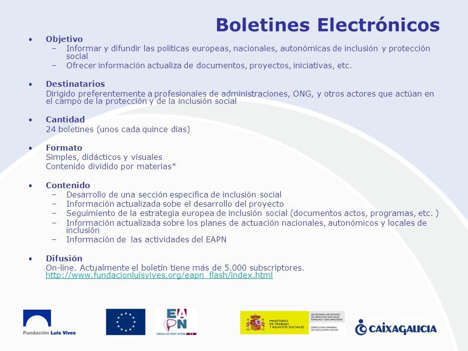 Boletines Electrónicos