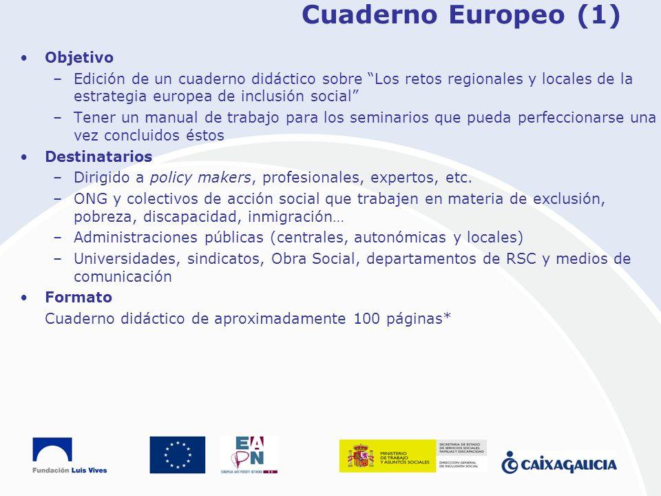 Cuaderno Europeo (1) Objetivo