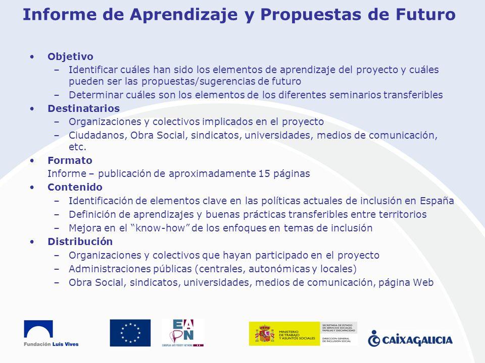 Informe de Aprendizaje y Propuestas de Futuro