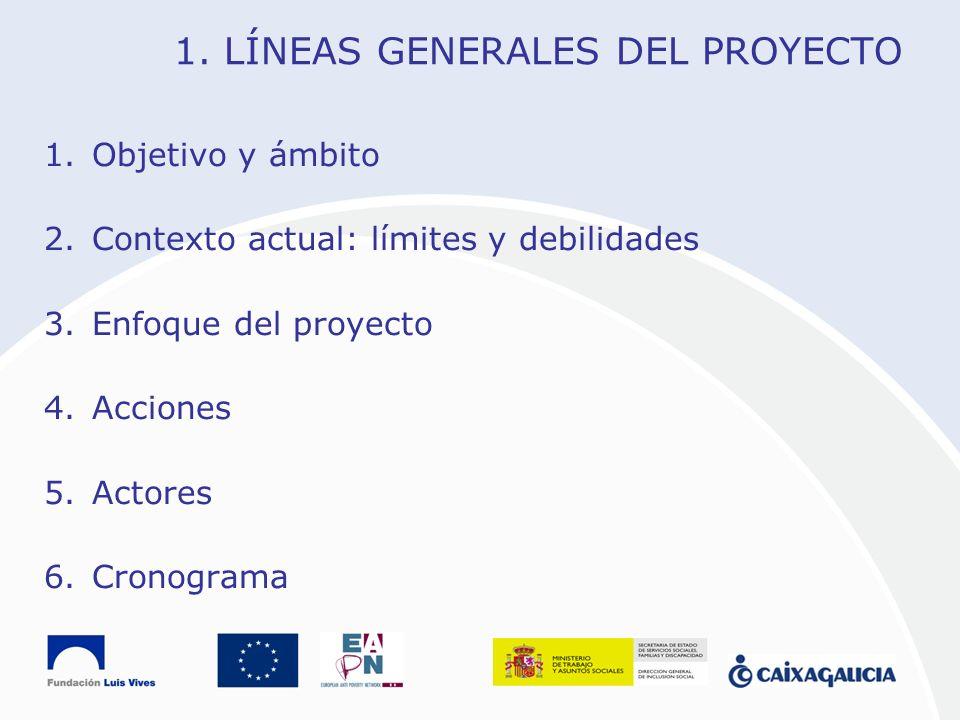 1. LÍNEAS GENERALES DEL PROYECTO
