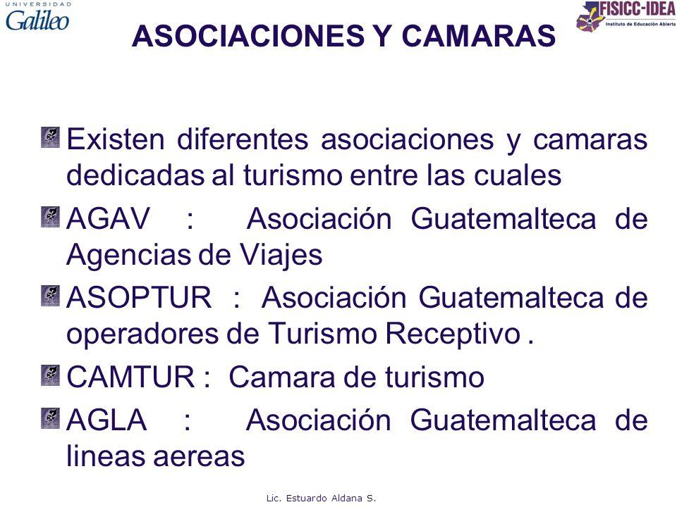 ASOCIACIONES Y CAMARAS