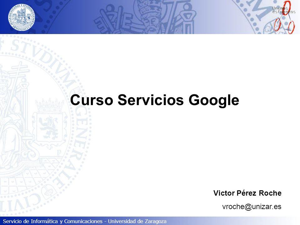 Curso Servicios Google