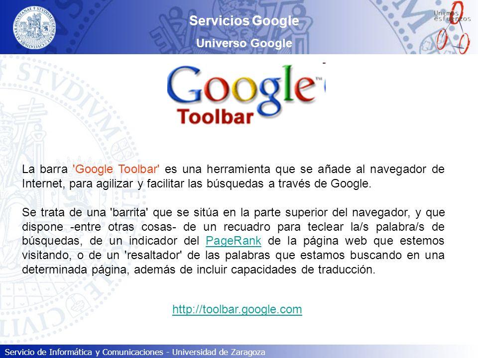 Servicios Google Universo Google