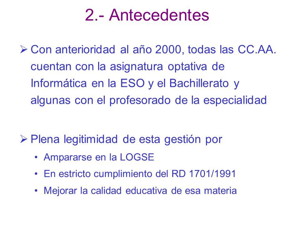 2.- Antecedentes