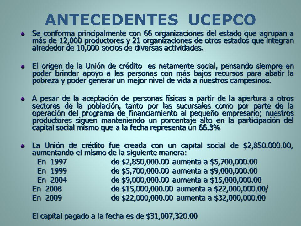 ANTECEDENTES UCEPCO