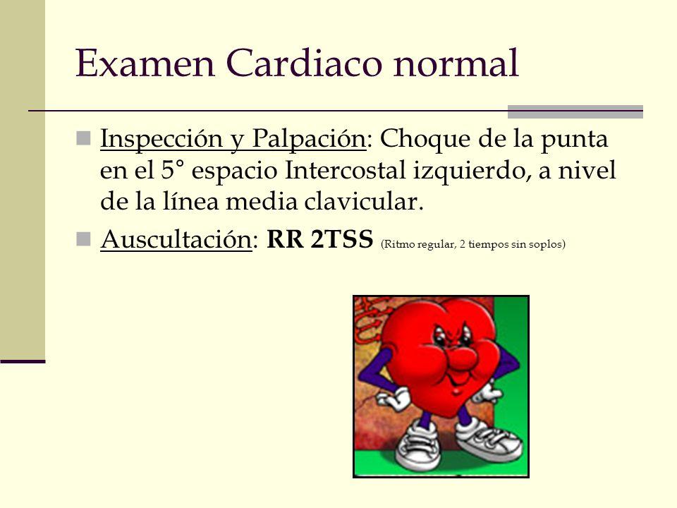 Examen Cardiaco normal