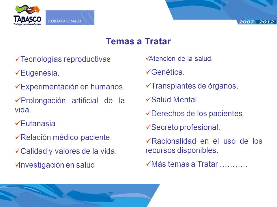 Temas a Tratar Tecnologías reproductivas Eugenesia. Genética.