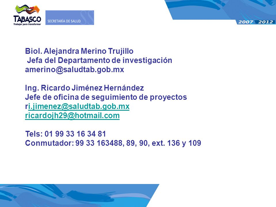 Biol. Alejandra Merino Trujillo