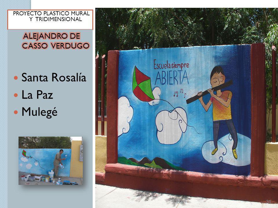 Santa Rosalía La Paz Mulegé ALEJANDRO DE CASSO VERDUGO