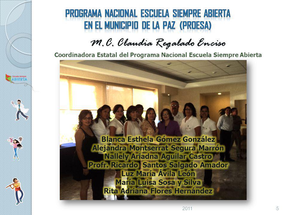 M.C. Claudia Regalado Enciso