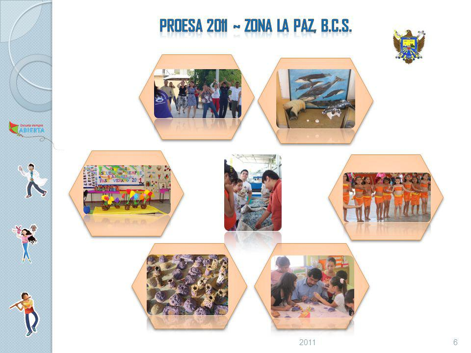 PROESA 2011 ~ ZONA La Paz, B.C.S. 2011