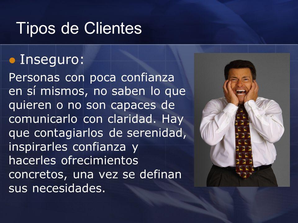 Tipos de Clientes Inseguro: