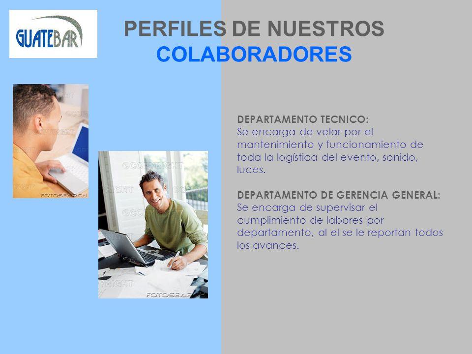 PERFILES DE NUESTROS COLABORADORES