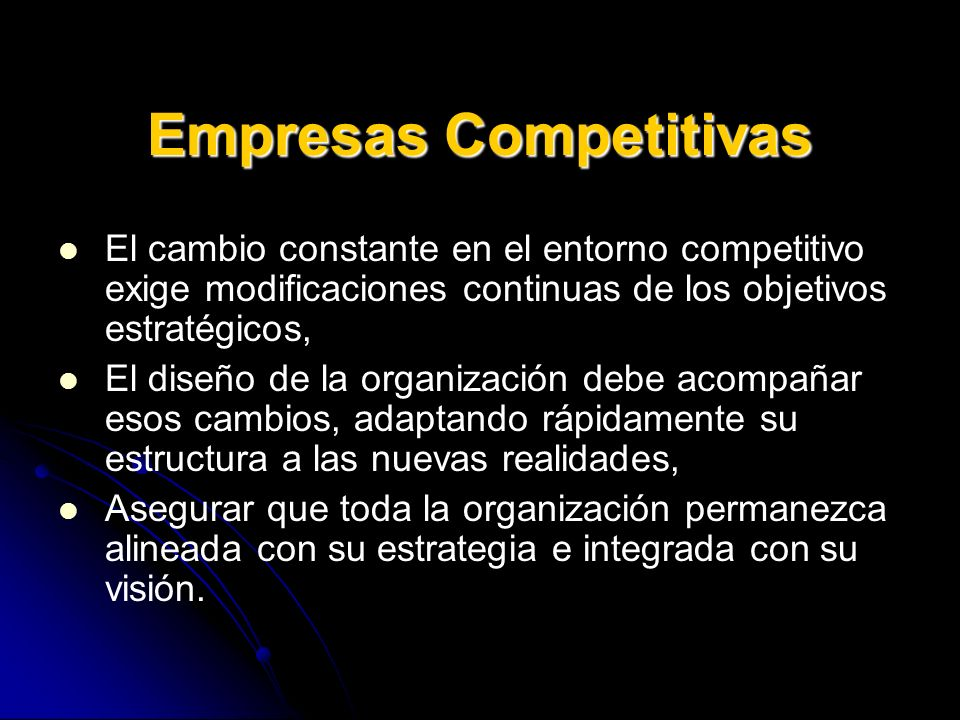 Empresas Competitivas