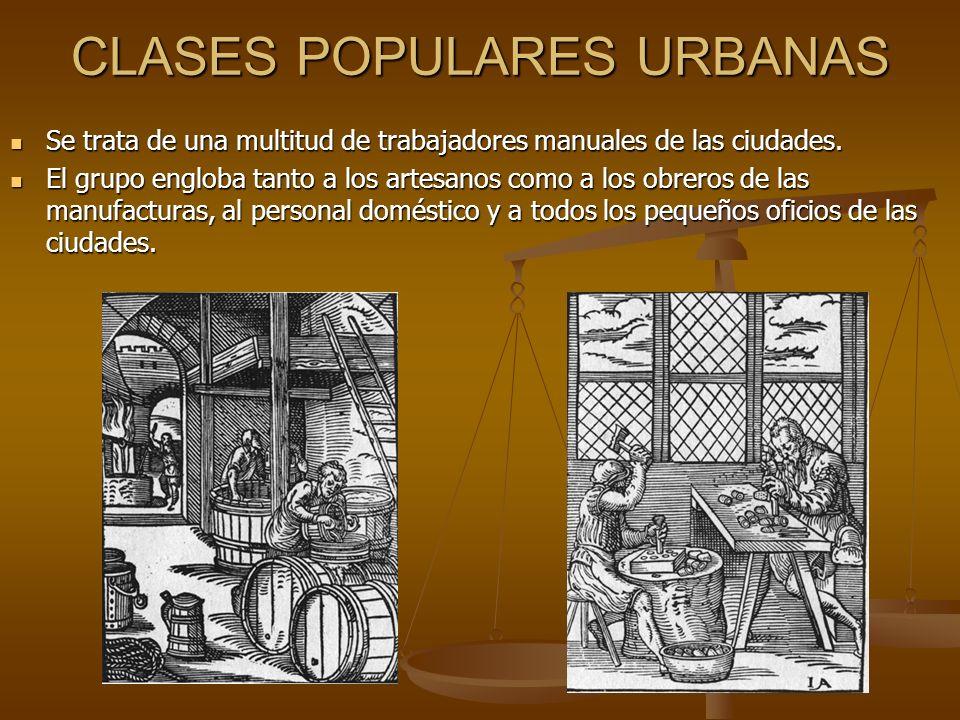 CLASES POPULARES URBANAS