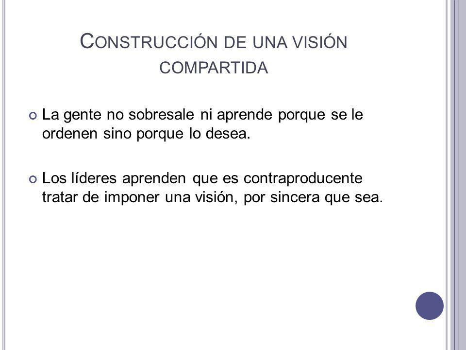 Construcción de una visión compartida