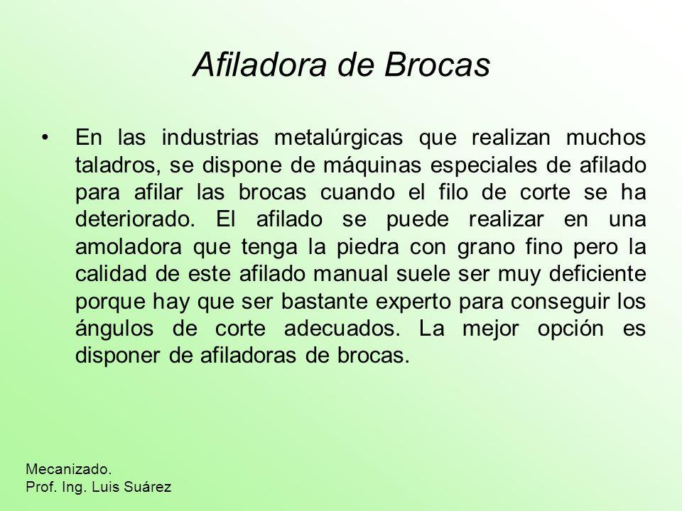 Afiladora de Brocas