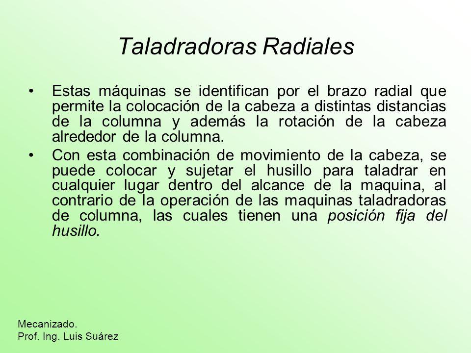 Taladradoras Radiales