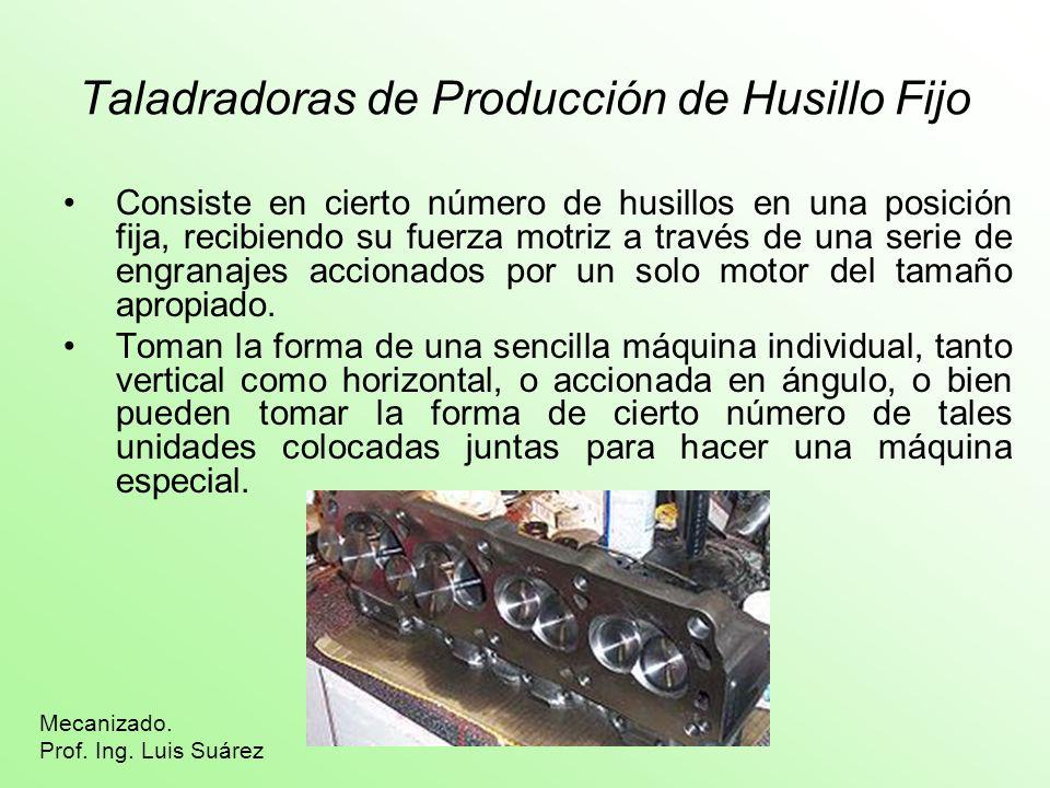 Taladradoras de Producción de Husillo Fijo